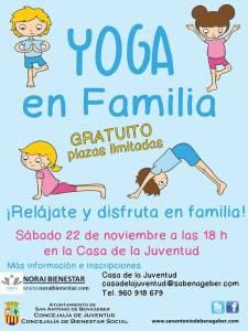 yoga en familia ayuntamiento